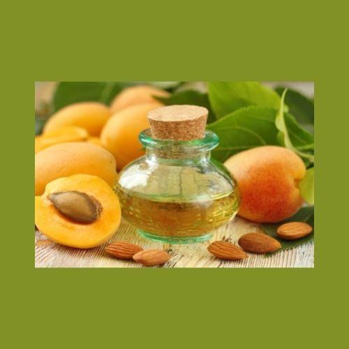 huile végétale de noyaux d'abricots
